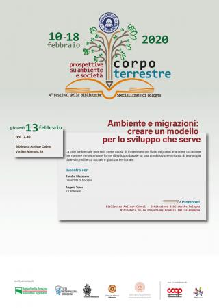 Ambiente e migrazioni: creare un modello per lo sviluppo che serve. @ Biblioteca Amilcar Cabral