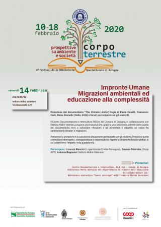 Impronte umane. Migrazioni ambientali ed educazione alla complessità. @ Istituto Aldini Valeriani